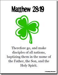 Bible Verse for St. Patrick's Day