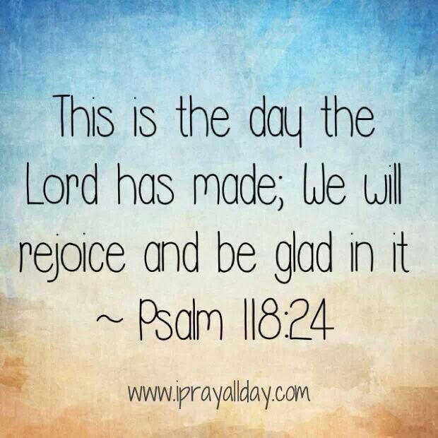 Psalm 118.24-5